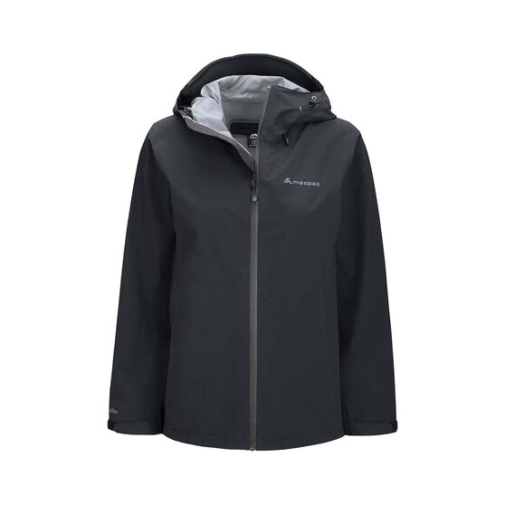 Macpac Women's Dispatch Rain Jacket, Black, bcf_hi-res