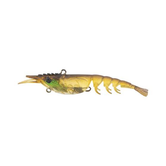Berkley Shimma Shrimp Soft Vibe Lure 100mm Olive Shrimp, Olive Shrimp, bcf_hi-res
