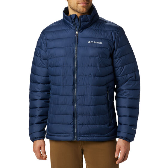 Columbia Men's Powder Lite Insulated Jacket, Collegiate Navy, bcf_hi-res