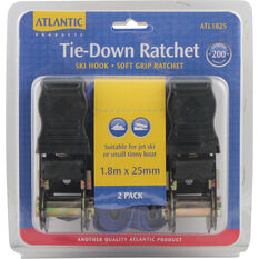 Atlantic Tie Down Ski Kit 1.8m x 25mm Pair, , bcf_hi-res