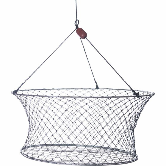 Neptune Wire Base Mesh Double Ring Crab Net Standard, , bcf_hi-res