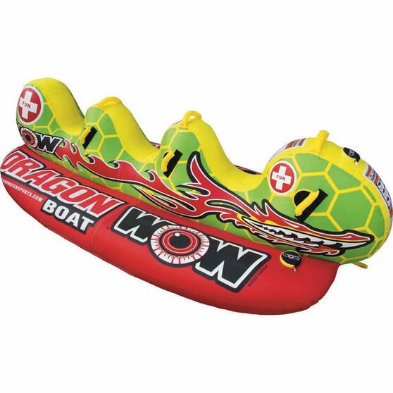 Wow Dragon Boat Tow Tube, , bcf_hi-res