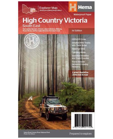 Hema High Country Vic - South East Map, , bcf_hi-res