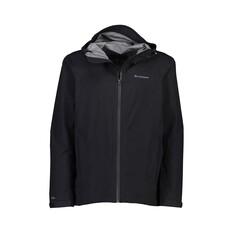 Macpac Men's Dispatch Rain Jacket Black S, Black, bcf_hi-res