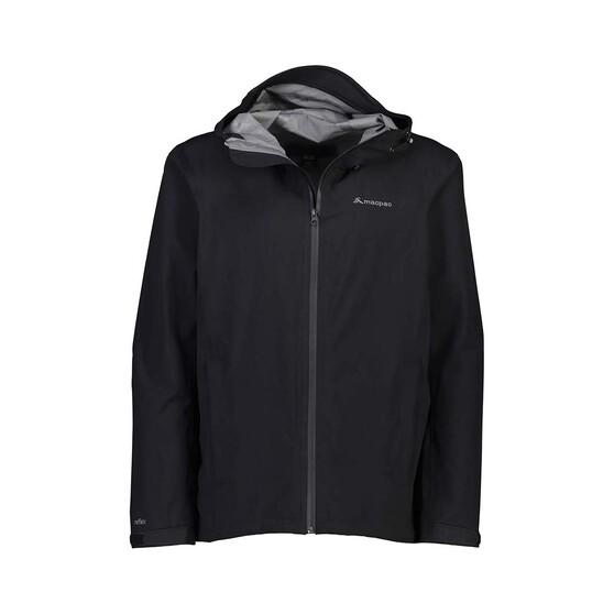 Macpac Men's Dispatch Rain Jacket, Black, bcf_hi-res