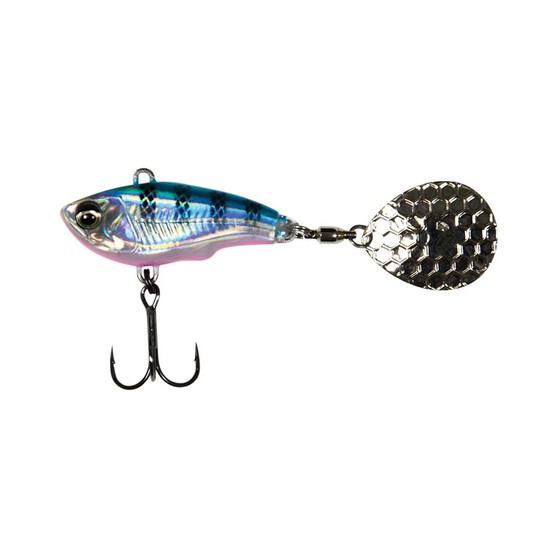 Savage Gear Fat Spin Tail Lure 16.5g Blue Silver, Blue Silver, bcf_hi-res