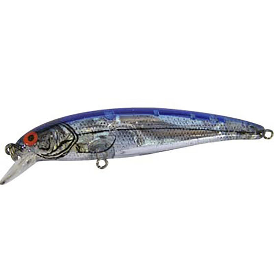 Bomber 24A Hard Body Lure 8.9cm Silver Blue 8.9cm, Silver Blue, bcf_hi-res