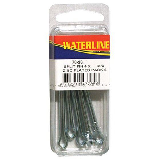 Waterline Zinc Plated Split Pins 6 Pack, , bcf_hi-res