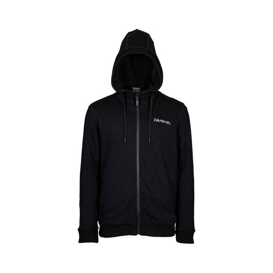 Daiwa Men's Sherpa Fleece Jacket, Black, bcf_hi-res