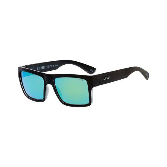 Liive Men's Midget Polar Float Mirror Sunglasses Black / Mirror, Black / Mirror, bcf_hi-res