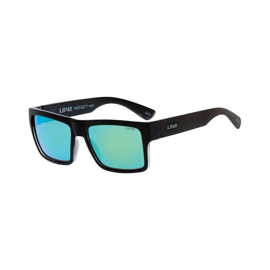 Liive Men's Midget Polar Float Mirror Sunglasses Black / Mirror, Black / Mirror, bcf_hi-res