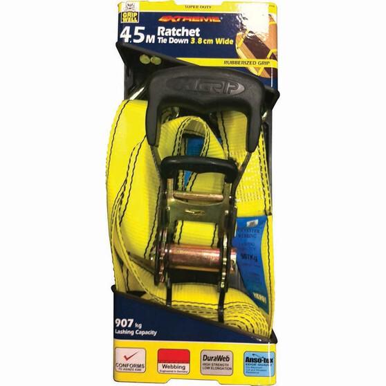 Gripwell Ratchet Tie Down - 4.5m, 907kg, , bcf_hi-res