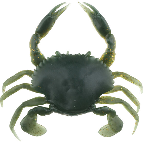 Savage 3D Manic Crab Soft Plastic Lure 7.5cm UV Moil, UV Moil, bcf_hi-res