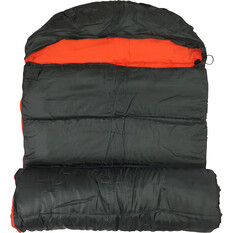Wanderer Singe +10C Hooded Sleeping Bag, , bcf_hi-res