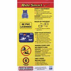 Ride Smart Boat Sticker, , bcf_hi-res
