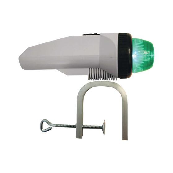 RWB LED Clamp-On Portable Bow Navigation Light Bi-Colour, , bcf_hi-res