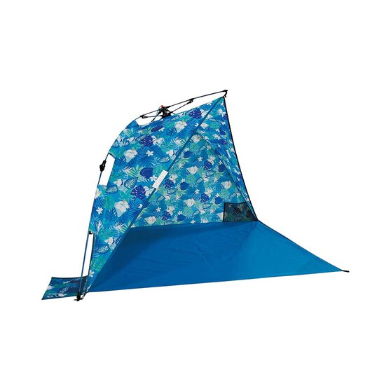 Wanderer Tropical Blue Beach Shelter, , bcf_hi-res