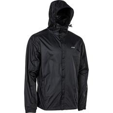 OUTRAK Men's Packaway Rain Jacket, Black, bcf_hi-res