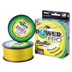 Power Pro Braid Line 150yds Yellow 150yds 5lb, Yellow, bcf_hi-res
