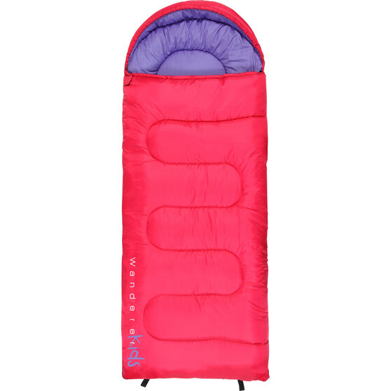 Kids' MiniFlame Hooded Sleeping Bag, , bcf_hi-res