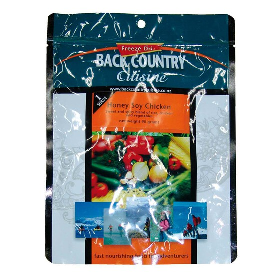 Back Country Cuisine Freeze Dried Honey Soy Chicken, , bcf_hi-res