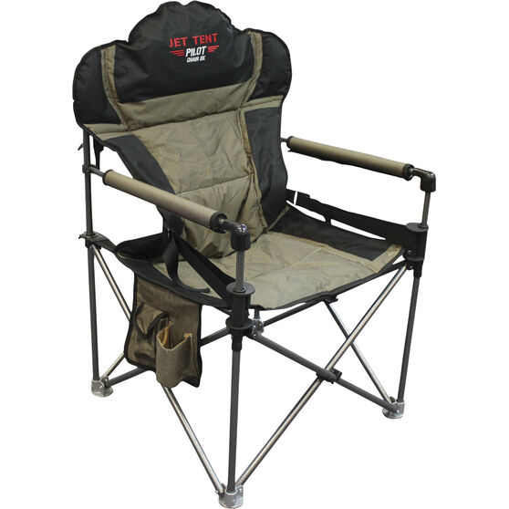 Oztent Jet Tent Pilot DX Camp Chair, , bcf_hi-res