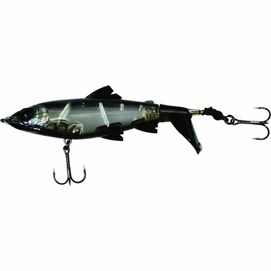 Savage Gear 3D Smash Tail Surface Lure 10cm Black Ghost 10cm, Black Ghost, bcf_hi-res
