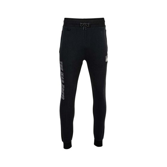 The Mad Hueys Men's Offshore Division Track Pants, Black / White, bcf_hi-res