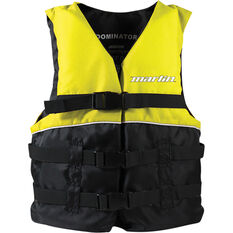 Marlin Australia Child Dominator PFD 50 Yellow, Yellow, bcf_hi-res