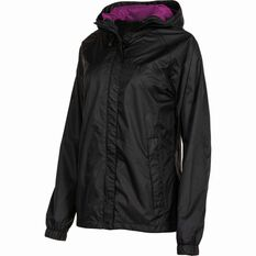 Outdoor Expedition Women's Coastal Jacket Black 8, Black, bcf_hi-res