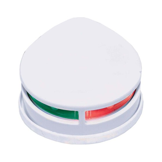 RWB LED 12V Navigation Lights Horizontal Port and Starboard Bi-Colour White, , bcf_hi-res