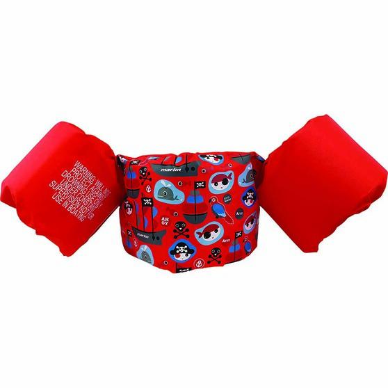 Marlin Floatation Aid Swim Vest Red, Red, bcf_hi-res