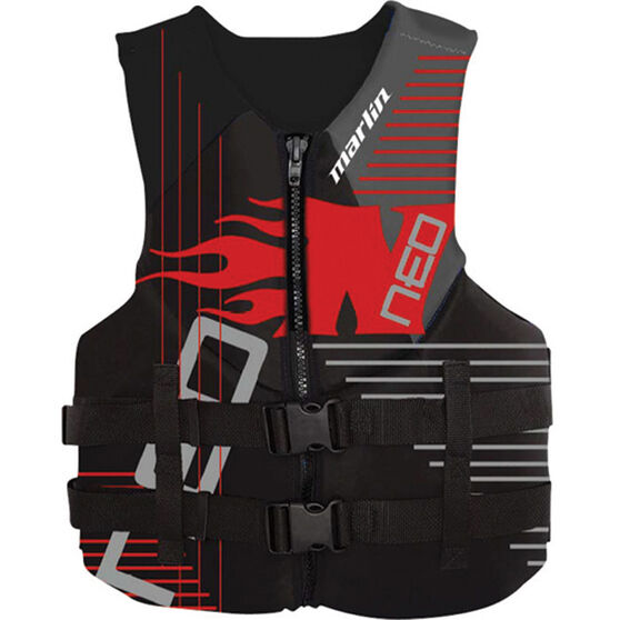 Marlin Australia Child Neo Flame PFD 50S Red S, Red, bcf_hi-res
