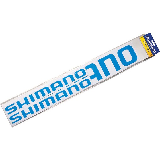 Shimano Logo Sticker 4 Pack, , bcf_hi-res