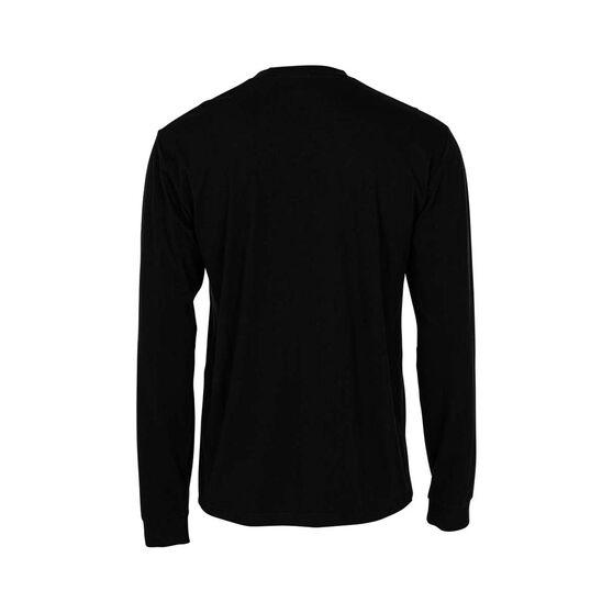 Bundaberg Rum Men's Long Sleeve Tee, Black, bcf_hi-res