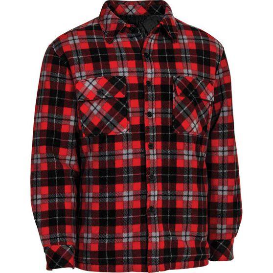 OUTRAK Men's Helmsman Jacket, Red Check, bcf_hi-res