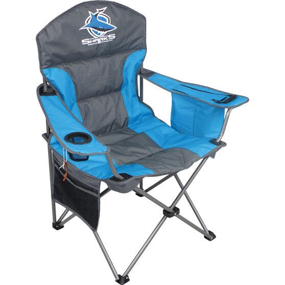 NRL Cronulla Sharks Camp Chair, , bcf_hi-res