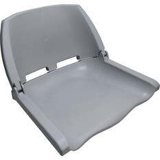 Bowline Unpadded Folding Tinnie Seat, , bcf_hi-res