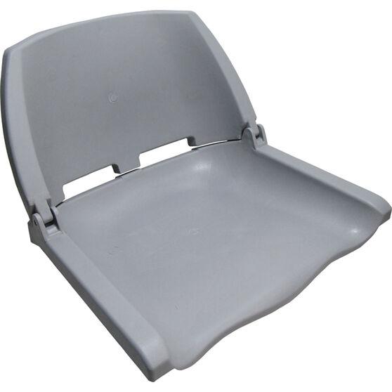 Bowline Unpadded Folding Tinnie Seat, , bcf_hi-res