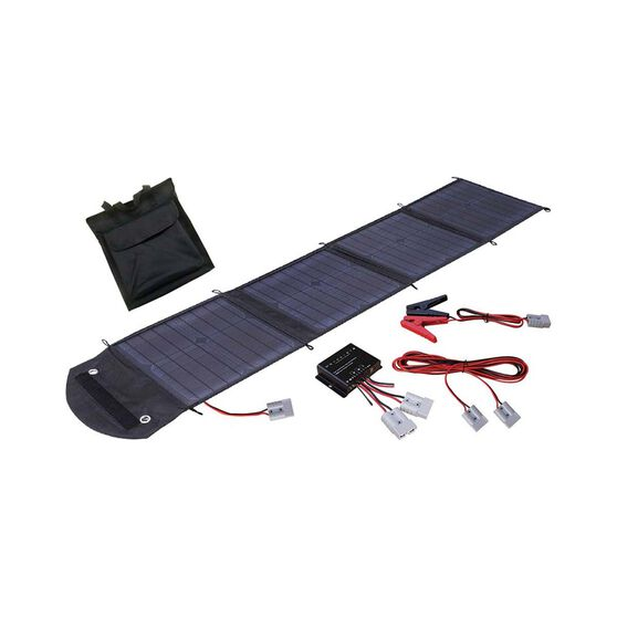 Wanderer 50W Foldable Solar Blanket, , bcf_hi-res