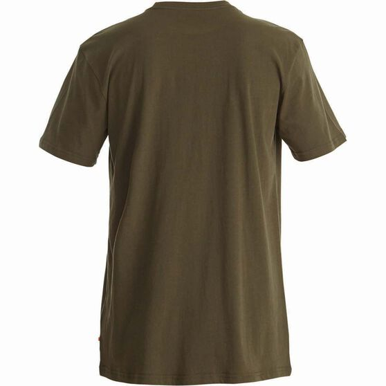 Quiksilver Men's Established II Tee Ivy Green XL Men's, Ivy Green, bcf_hi-res