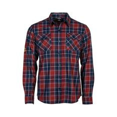 National Geographic Men's Long Sleeve Shirt Red Check S, , bcf_hi-res