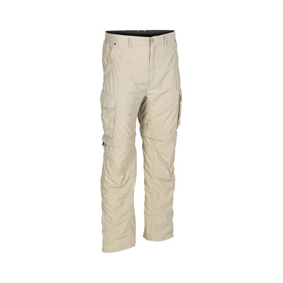 OUTRAK Convertible Men's Hiking Pants, Cement, bcf_hi-res
