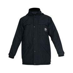 Quiksilver Waterman Men's Swell Chasers Mac Jacket Black S, Black, bcf_hi-res