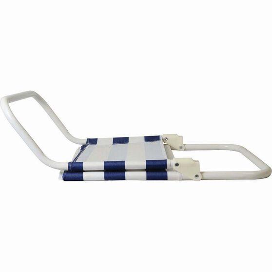 Folding Beach Chair Blue Stripe, Blue Stripe, bcf_hi-res