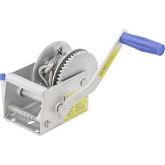 Atlantic Single Speed Trailer Winch with Cable, , bcf_hi-res