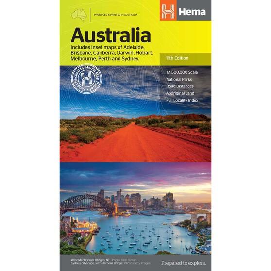 Hema Country Australia Map, , bcf_hi-res