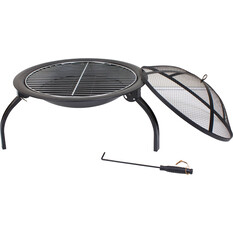 Fire Pit with Grill, , bcf_hi-res