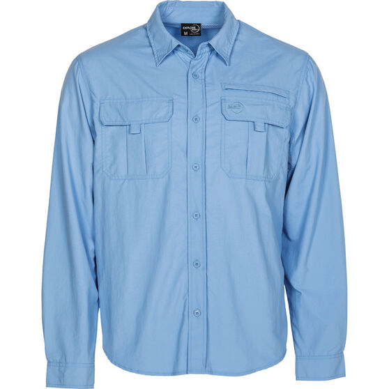 Explore 360 Men's Vented Long Sleeve Fishing Shirt, , bcf_hi-res