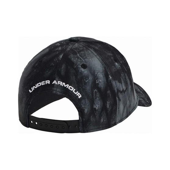 Under Armour Mens Camo 2.0 Cap Black / Mod Grey OSFM, Black / Mod Grey, bcf_hi-res